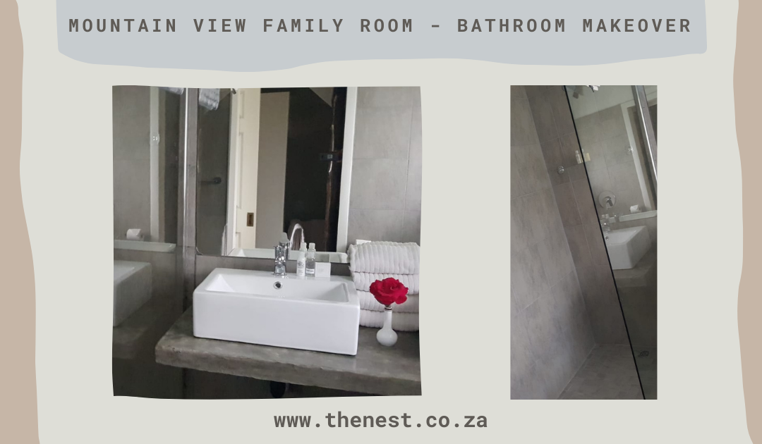 Family Mountain View Rooms – Bathroom upgrade