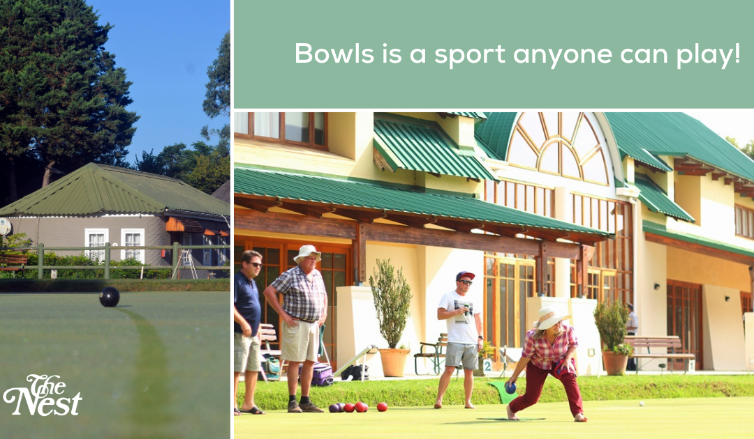 Bowls is a sport anyone can play!