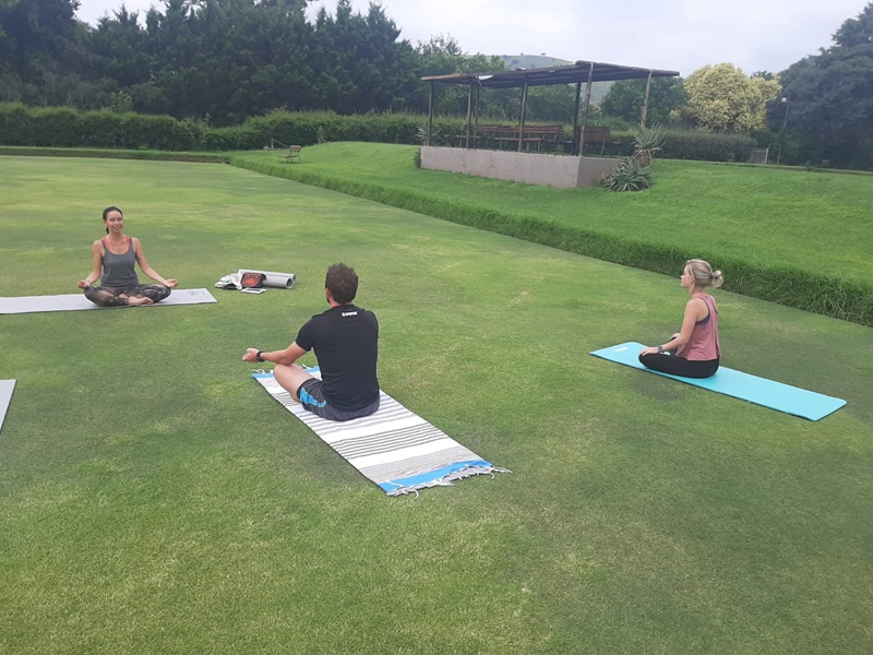 Flow Yoga at The Nest Hotel